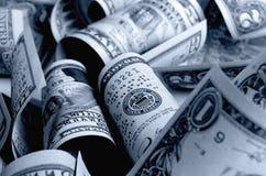 Kontanta US dollar royaltyfri foto