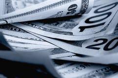 Kontanta US dollar arkivbilder