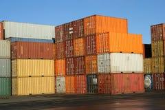 kontenery Fotografia Royalty Free