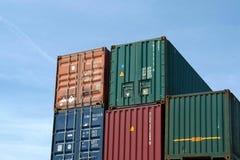 kontenery Obraz Stock