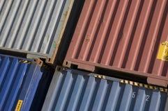 kontenery Zdjęcie Stock