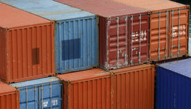 kontenery Obrazy Stock