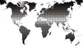 kontinent stock illustrationer