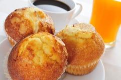 kontinental frukost Arkivfoto