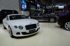 Kontinental GT rusar från Bentley, 2014 CDMS Royaltyfria Bilder