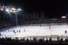 Kontinental Hockey League KHL 2018/2019 season game , Winter Ice Break 2019 Dinamo Riga vs. Dinamo Minsk