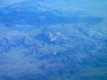 Kontinental skiljelinje från luft Arkivbilder