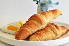 kontinentala giffel för frukost Arkivbilder