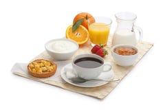 Kontinentales Frühstück Stockbilder