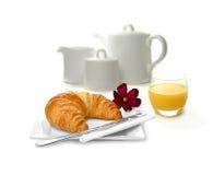 Kontinentales Frühstück Stockbild