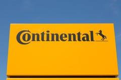 KONTINENTALES Logo stockfotos