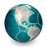 Kontinentalplatten bewegen sich st?ndig und machen neue Bereiche vom Meeresgrund, Geb?udeberge, verursachen Erdbeben, und stellen lizenzfreie abbildung