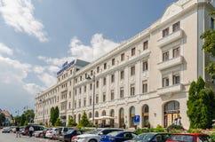 Kontinentalt hotell royaltyfri bild