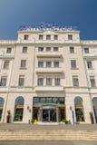 Kontinentalt hotell royaltyfri foto