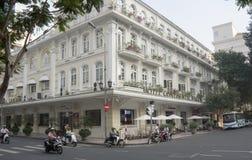 Kontinentalt hotell arkivbild
