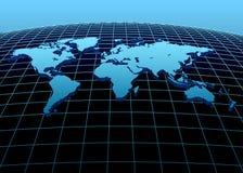 Kontinente 3d Lizenzfreie Stockbilder