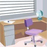 Kontor vektor illustrationer