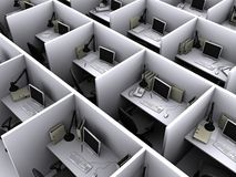 kontor Arkivfoton