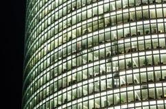 Kontor av det Deutsche Bahn tornet i Potsdamer Platz Fotografering för Bildbyråer