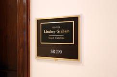 Kontor av Förenta staternasenatorn Lindsey Graham royaltyfri foto