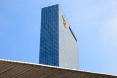 Kontor av Nationale Nederlanden i Rotterdam Fotografering för Bildbyråer