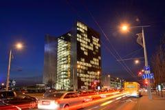 Kontor av Swedbank, Vilnius Arkivfoto
