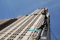 Kontor Buliding New York Royaltyfri Bild