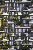Kontor för byggnad för bakgrundstexturhus med växtfönstergeom Royaltyfria Foton