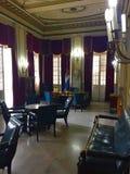 Kontor för Fulgencio Batista ` s på museet av revolutionen Arkivbilder
