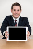 Kontor för presentation för försäljningsgrad Arkivbilder