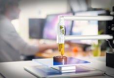 kontor för skrivare 3D Royaltyfri Foto