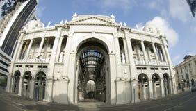 kontor för stadsecuador regerings- guayaquil korridor royaltyfri foto