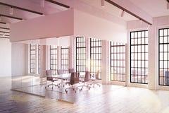 Kontor i moderna New York City Arkivbild
