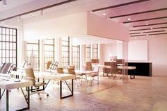 Kontor i New York City Arkivfoto