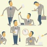 Kontor Manager stock illustrationer