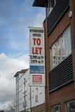 Kontor som ska låtas Royaltyfri Fotografi
