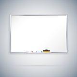 Kontor Whiteboard vektor illustrationer