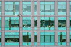 Kontor Windows Royaltyfri Foto