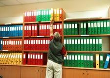 kontorsarbete arkivbild