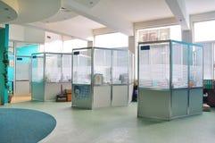 kontorsarbetsplats Arkivbild