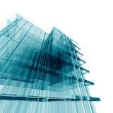 Kontorsbyggnad vektor illustrationer