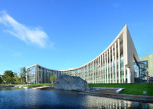 Kontorsbyggnad royaltyfria foton