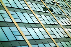 Kontorsbyggnad arkivbild