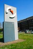 Kontorsbyggnad av Salzgitter AG, Salzgitter, Tyskland Fotografering för Bildbyråer