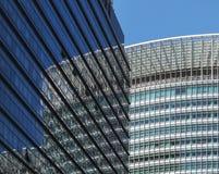 Kontorsbyggnad Fecade Arkivbilder