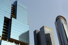 Kontorsbyggnad i Hong Kong royaltyfri fotografi