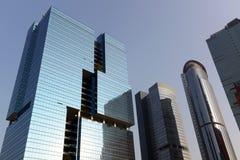 Kontorsbyggnad i Hong Kong Arkivfoton