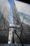 Kontorsbyggnad i Manhattan NY Royaltyfri Bild