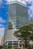 Kontorsbyggnad i mitten av Kuala Lumpur Arkivbild