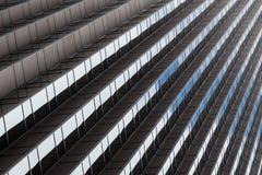 Kontorsbyggnad mönstrar i San Francisco - Kalifornien Arkivbilder